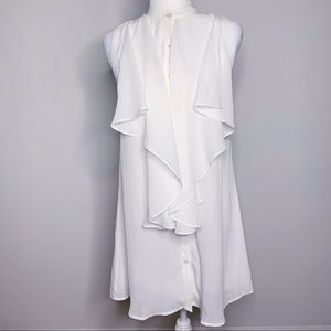 Nasty Gal Ruffle Front Dress